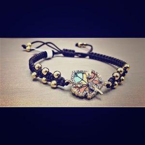 Jewelry - Micro Mosaic Bracelet in 18K Gold